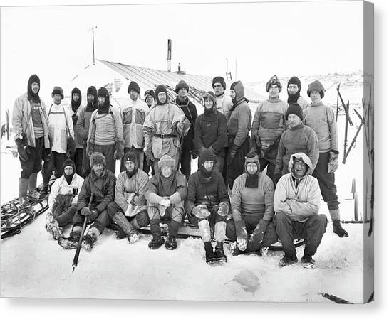 Antarctica Canvas Print - Terra Nova Antarctic Expedition by Scott Polar Research Institute