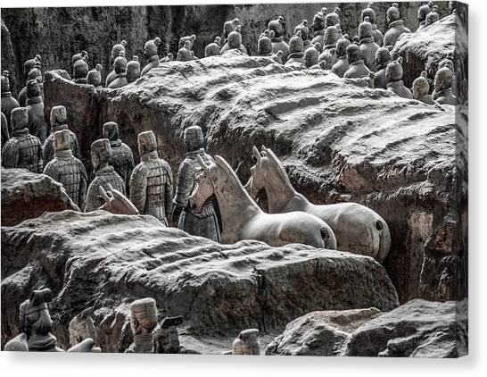 Terracotta Soldiers 1 Canvas Print