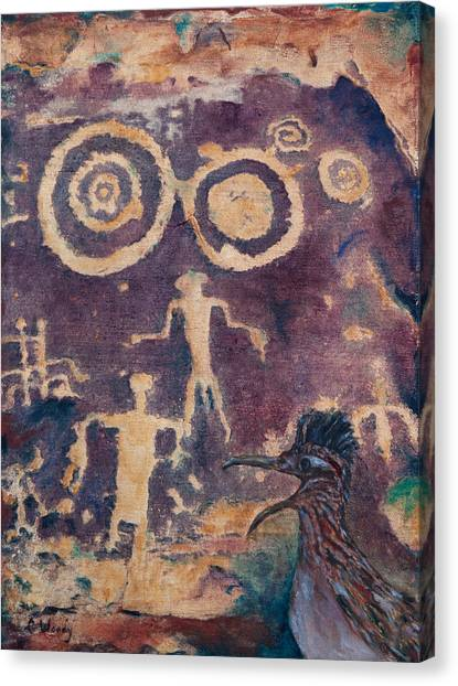 Testimony Canvas Print