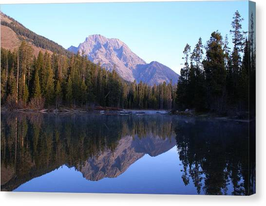 Teton Reflecions Canvas Print