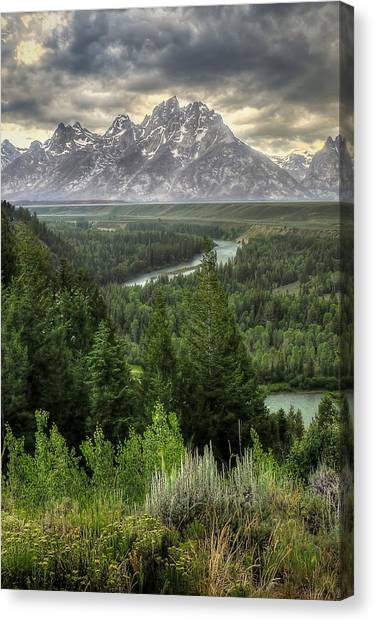 Ansel Adams Canvas Print - Teton Visions by Ryan Smith