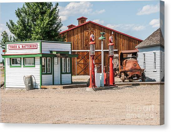 Texaco And Mack Canvas Print