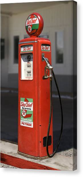 Old Gas Pump Canvas Prints | Fine Art America