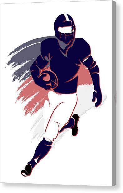 Houston Texans Canvas Print - Texans Shadow Player2 by Joe Hamilton