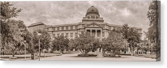 Texas A And M Academic Plaza - College Station Texas Canvas Print