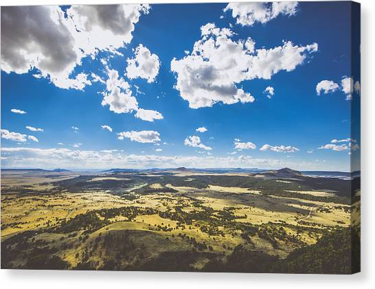 Sky Canvas Print - Texas Beauty by Chelsea Stockton