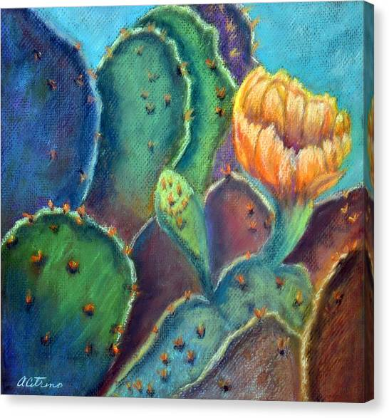 Texas Beauty  Pastel Canvas Print