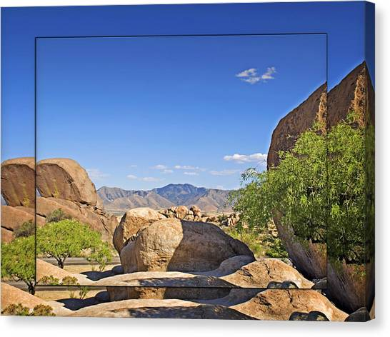 Texas Canyon 2 Canvas Print