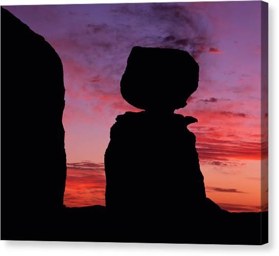 Texas Canyon Sunset Canvas Print