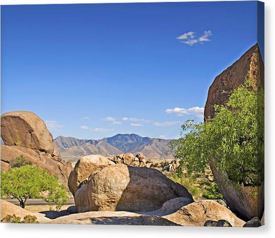 Texas Canyon Canvas Print