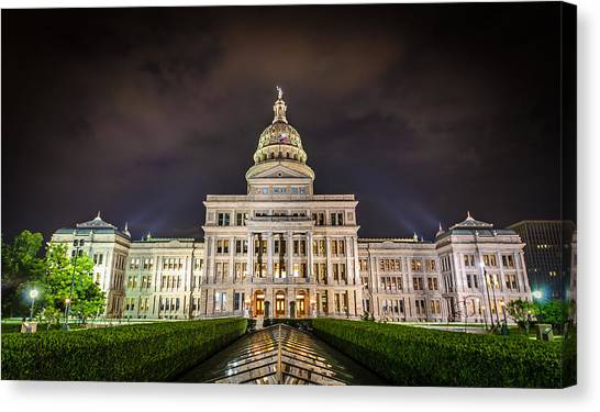 Texas Capitol Building Canvas Print