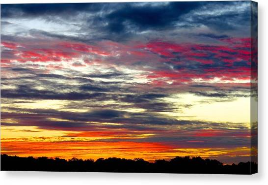 Texas Good Morning Canvas Print