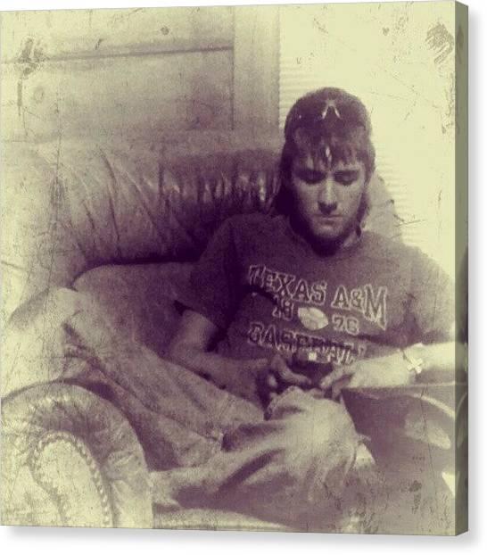 Kirby Canvas Print - Texas Grunge by Blake Kirby