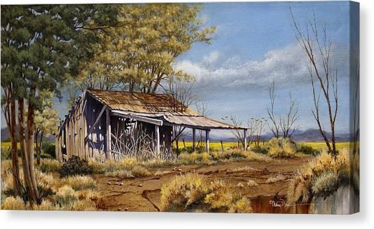 Texas High Country Overlook-crop Canvas Print