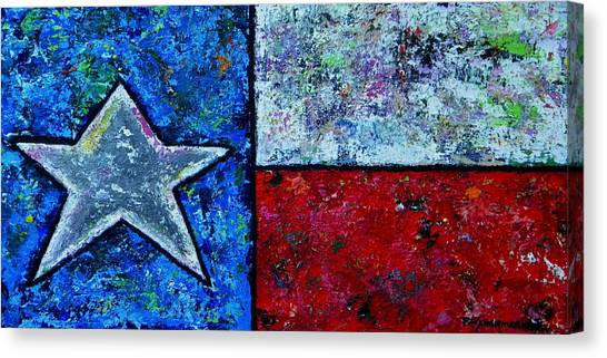 Texas In Color Canvas Print