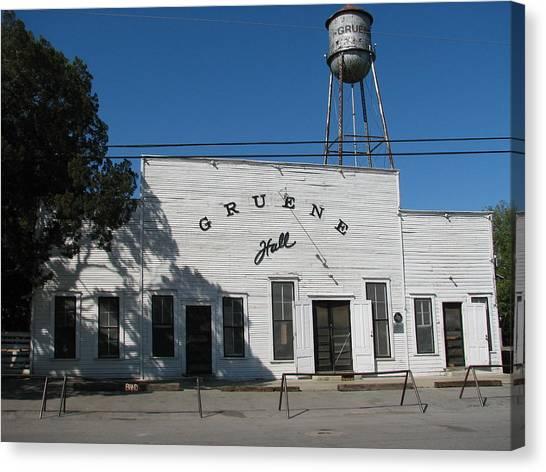 Texas Oldest Dance Hall Canvas Print