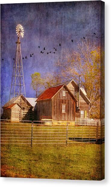 Texas Ranch Canvas Print