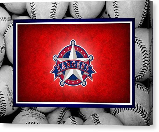 Texas Rangers Canvas Print - Texas Rangers by Joe Hamilton