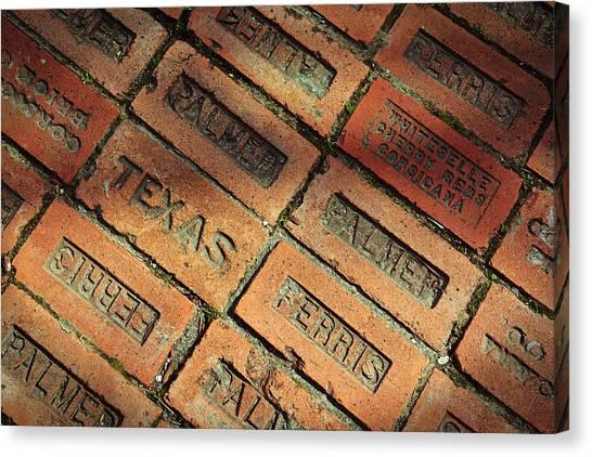 Texas Red Brick Canvas Print