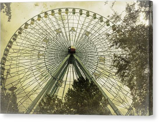 Texas Star Old Fashioned Fun Canvas Print