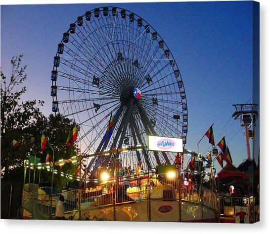 Texas State Fair Canvas Print