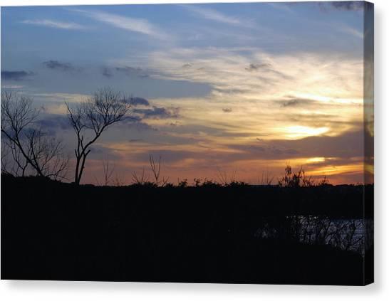 Texas Sunset Canvas Print