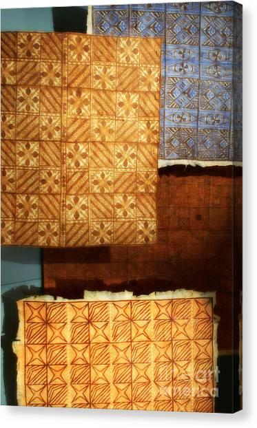 Textile1 Canvas Print