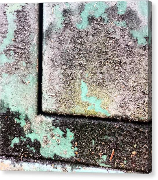 Abstract Canvas Print - Green Box 3 by Jason Michael Roust