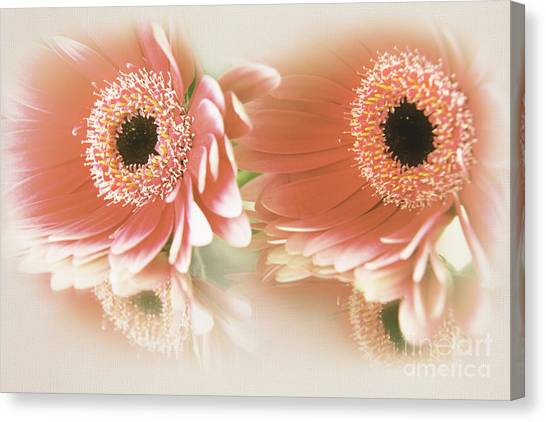 Textured Floral Artwork Canvas Print