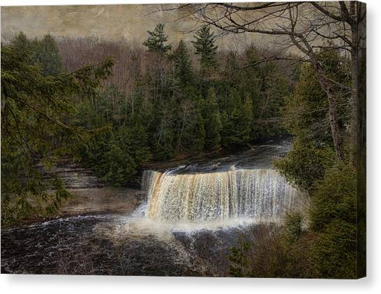 Textured Tahquamenon River Michigan Canvas Print