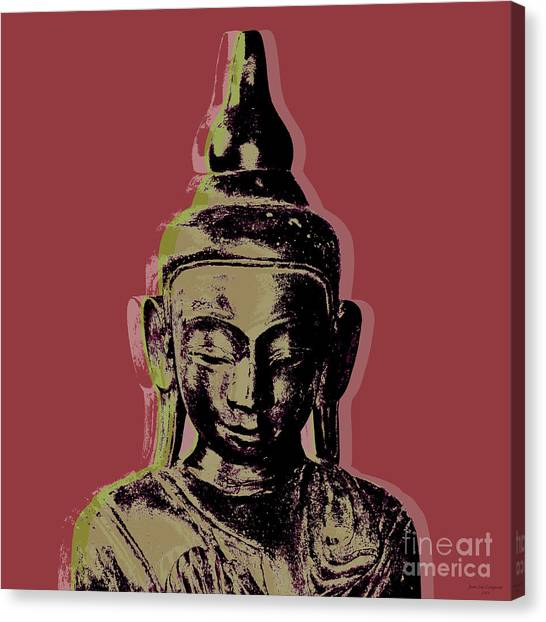 Thai Buddha #1 Canvas Print