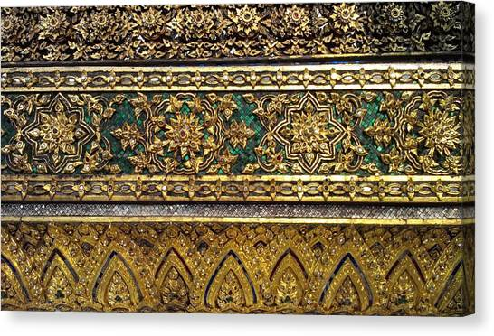 Thai Kings Grand Palace Canvas Print