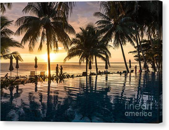 Thai Sunset Canvas Print