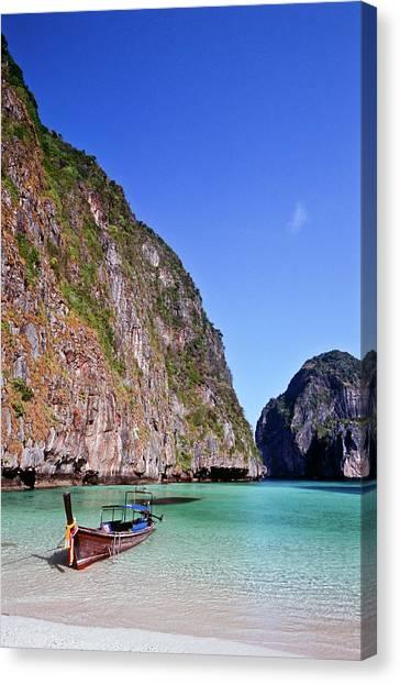 Phi Phi Island Canvas Print - Thailand, Krabi Province, Ko Phiphi by Tropicalpixsingapore
