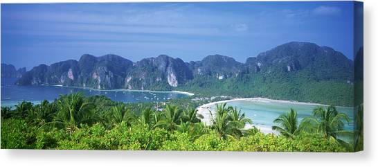 Phi Phi Island Canvas Print - Thailand, Phi Phi Islands, Mountain by Panoramic Images