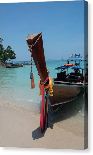 Phi Phi Island Canvas Print - Thailand, Phuket, Andaman Sea by Cindy Miller Hopkins