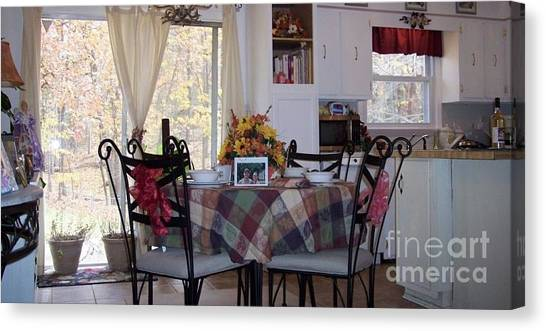 Thanksgiving 2010 By Angelia H Clay Canvas Print