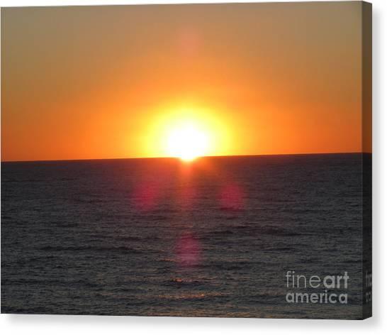 Thanksgiving Sunset Canvas Print