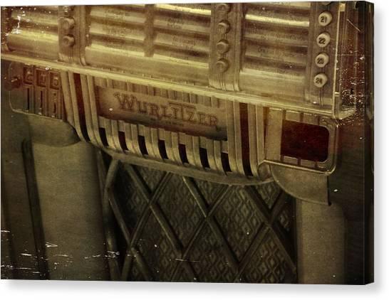 Jukebox Canvas Print - That Old Jukebox by Dan Sproul