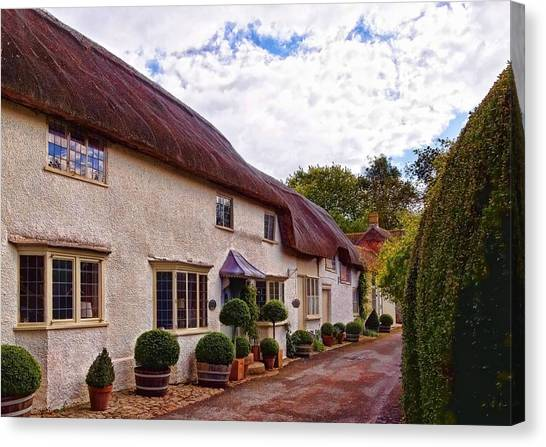 Thatched Cottage -2 Canvas Print