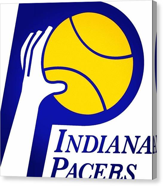 Indiana Pacers Canvas Print - That's A Damn Come Back!! #indiana by Kyle Walker