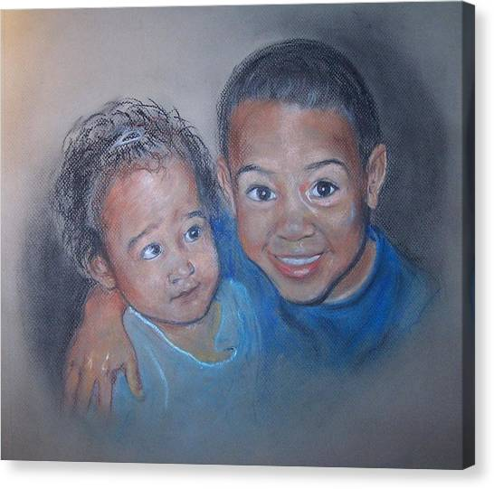 That's My Brother Canvas Print
