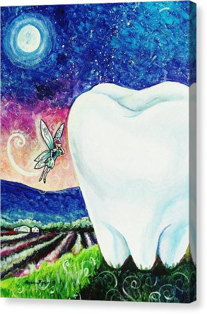 That's No Baby Tooth Canvas Print