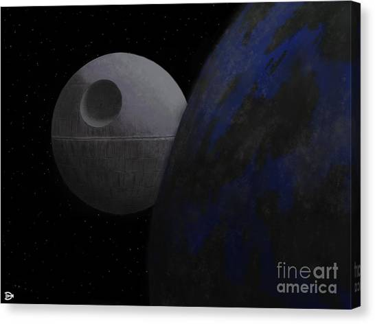 ...that's No Moon... Canvas Print