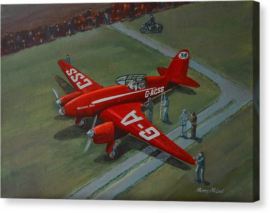 The Great Air Race Canvas Print