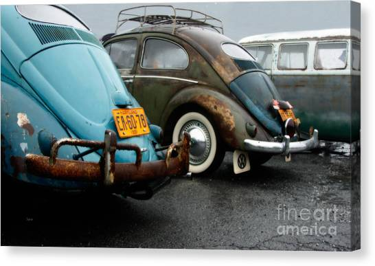 The 1955s Canvas Print by Steven Digman