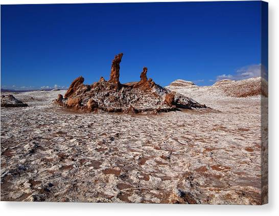 Atacama Desert Canvas Print - The 3 Marys by FireFlux Studios