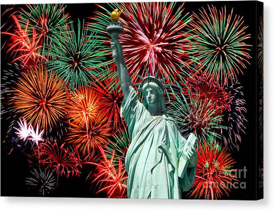 Independance Day Canvas Print