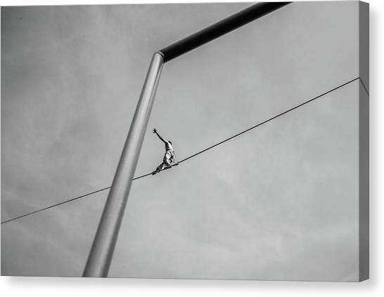 The Acrobat Canvas Print by Alessandro L.