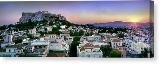 The Acropolis Canvas Print - Athens by Rod McLean